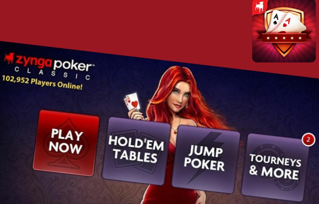 play on Zynga Poker classic