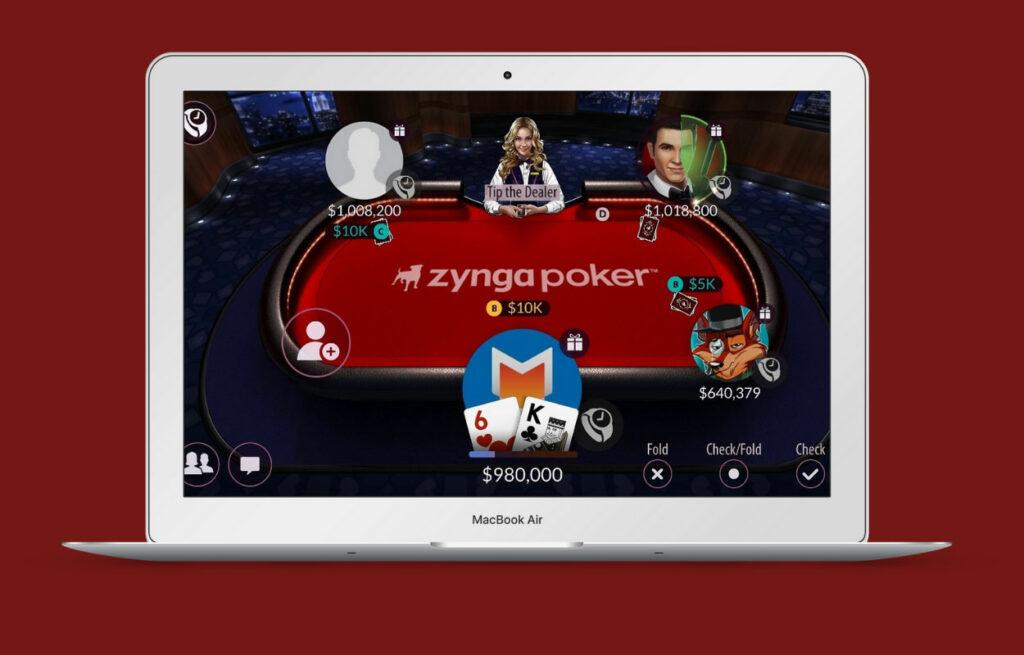 Zynga Poker casino online