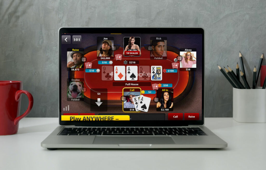 Zynga poker classic with your friends