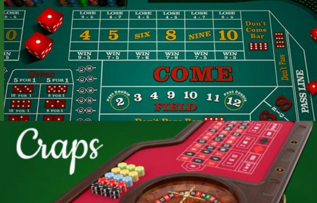 Craps is the least popular of all the casino games